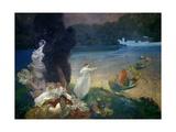 The Happy Island, 1900 Giclee Print by Paul Albert Besnard