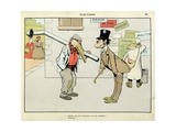 Elections: What Is Your Profession Heating Engineer! 'Menagerie' Giclee Print by Benjamin Rabier