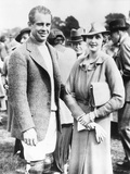 Barbara Hutton, with Her First Husband, Georgian Prince Alexis Mdivani Photo