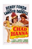 Chad Hanna Giclee Print