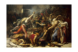 Revolt at Cairo, October 21St, 1798. During Napoleon's Egyptian Expedition Giclee Print by Anne-Louis Girodet-Trioson