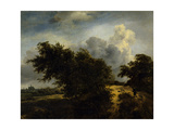 The Bush, Ca. 1650-82 Giclee Print by Jacob van Ruisdael