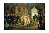 Napoleon Receives Senators and Declares Himself Emperor, May 18, 1804 Giclee Print by Georges Rouget