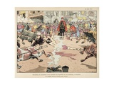 The Torment and Execution of Henri IV 's Assassin, Ravaillac Giclee Print by Jacques de Breville