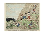 Childhood of Henry Iv, When He Played with Peasants Giclee Print by Jacques de Breville