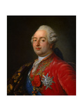 Portrait of Louis XVI, 1786 Giclee Print by Antoine Francois Callet