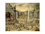 Massacre of the Triumvirate, 1562 Giclee Print by Antoine Caron