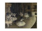 Ballet Rehearsal,1874 Giclee Print by Edgar Degas