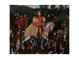Henry VIII, King of England on Field of Cloth of Gold, June 7, 1520 Giclee Print by Friedrich Bouterwerk