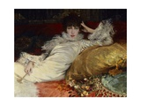 Portrait of Sarah Bernhardt, 1876, Detail Giclee Print by Georges Clairin