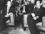Presidents Valery Giscard D'Estaing and Gerald Ford Meeting in Martinique Photo