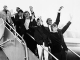 Herman's Hermits Arrive in New York from a Tour of Japan, Feb Photo