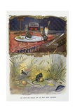 The Town Mouse and the Country Mouse, La Fontaine's Fables, Ca, 1900 Giclee Print by Gaston Gelibert