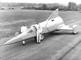 Drag Racer Walter Arfons, with the 'Wingfoot Express' in 1964 Photo