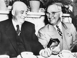 President Harry Truman Wishes House Speaker, Sam Rayburn, a Happy 68th Birthday Photo