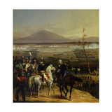 Passage of the Tagliamento Facing Valvasone Led by Bonaparte, March 16, 1797 Giclee Print by Hippolyte Lecomte