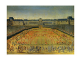 Louis XIV's Tournament at Tuileries on June 5, 1662 Giclee Print by Henri De Gissey
