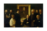 Homage to Delacroix: French Artists and Critics, 1864 Giclee Print by Henri Fantin Latour