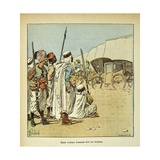 Napoleonic Wars, the Egyptians Surprised by the French Crews Giclee Print by Louis Bombled