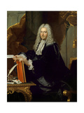 Philibert Orry, Inspector General of Finances for Louis Xv, Ca, 1738, Studio of Hyacinthe Rigaud Giclee Print by Hyacinthe Rigaud