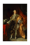 Charles Philippe De France Count of Artois, and Future Charles X of France Giclee Print by Antoine Francois Callet