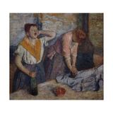 Women Ironing, 1874-76 Giclee Print by Edgar Degas