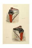 Military Illustration in My 28 Days, 1896, Soldiers in Alignment Giclee Print by Albert Guillaume
