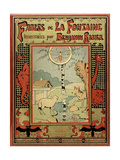 Book Cover of La Fontaine's Fables Giclee Print by Benjamin Rabier