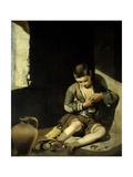 The Young Beggar. Circa 1645-1650 Giclee Print by Bartolome Murillo