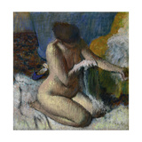 After the Bath, Ca. 1880-89 Giclee Print by Edgar Degas