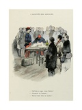 Military Illustration in Mes Campagnes, 1896, the Arrival of Recruits Giclee Print by Albert Guillaume
