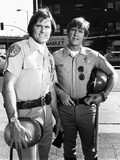 Bruce Jenner as Officer Steve Mcleish with Larry Wilcox Playing Jon Baker on 'Chips' Photo