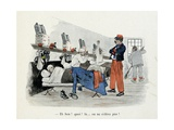 Mes Campagnes, 1896, Difficult Awakening of the Recruits Dormitory Giclee Print by Albert Guillaume