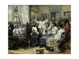 Patients in a State of Fascination at La Charite Hospital, Paris, 1889 Giclee Print by Georges Moreau De Tours