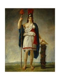 Allegorical Figure of the French Republic. 1794 Giclee Print by Antoine Jean Gros