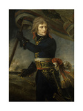 Napoleon Bonaparte on the Bridge of Arcole, Nov. 17, 1796 Giclee Print by Antoine Jean Gros