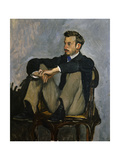 Portrait of Auguste Renoir 1867 Giclee Print by Frederic Bazille