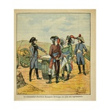 Bonaparte Explains His Plan to Take Toulon to the Commissioners of Republic Giclee Print by Louis Bombled