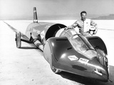 Walter Arfons, Drag Racer with the 'Wingfoot Express' in 1964 Photo