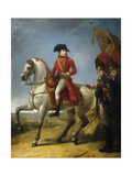 Equestrian Portrait, the First Consul Awarding a Sabre of Honor, after Battle of Marengo, June 1800 Giclee Print by Antoine Jean Gros