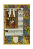 Antoine Verard Writing a Book, History of Printing, 15th C Giclee Print by Antoine Verard