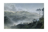 Battle of Montenotte, April 12,1796. Napoleon Fought Austrian Gen. Count Eugène-Guillaume Argentea Giclee Print by P. Morel