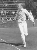 Bill Tilden, at the Opening of the U.S. Pro Tennis Championship Tournament Photo