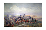 Battle of Fontenoy, 1745, Battle of Fontenoy Giclee Print by Edouard Detaille