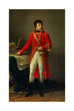 Full Length Portrait of Napoleon Bonaparte as First Consul. 1802 Giclee Print by Antoine Jean Gros