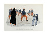 Mes Campagnes, 1896, Recruits Drill-Manipulation of Rifles Giclee Print by Albert Guillaume