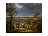 Surrender of Mantua, Feb. 2, 1797, Napoleon's Italian Campaign Against Austria Giclee Print by Hippolyte Lecomte