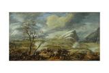 Battle of Rivoli, Jan. 14, 1797. Napoleon's Italian Campaign Against Austria Giclee Print by Louis Albert Bacler d'Albe