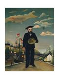 Myself: Portrait-Landscape, 1890 Giclee Print by Henri Rousseau