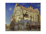 The Church of Moret, 1893 Giclee Print by Alfred Sisley